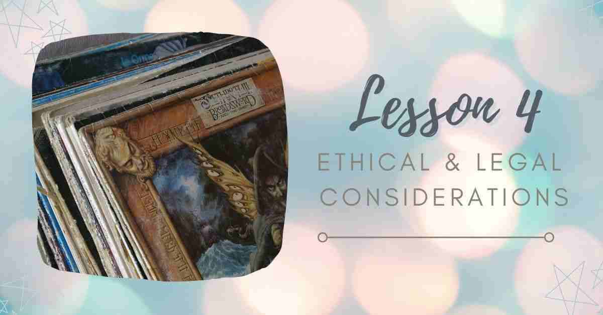 Ethical Legal Considerations